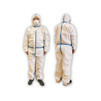 CE certification disposable personal isolation protective clothing , protection suit, protective coverall